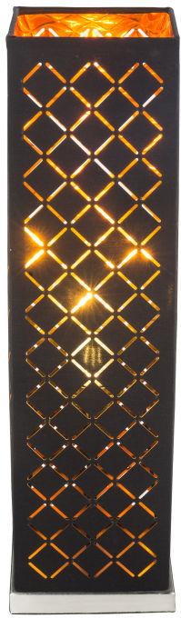 Globo CLARKE 15229T2 lampa stołowa czarno-złoty 1xE27 40W 57cm
