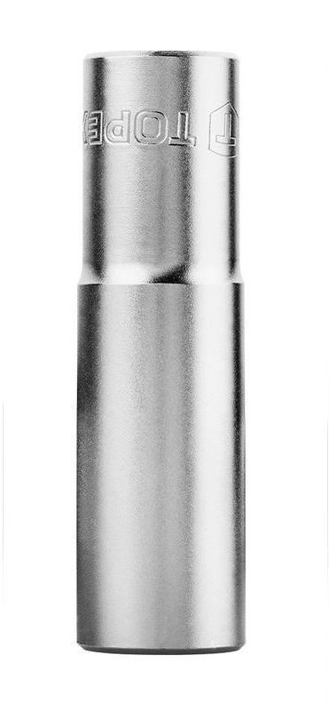 Nasadka 17mm 1/2 cala sześciokątna stal CrV długa 38D756
