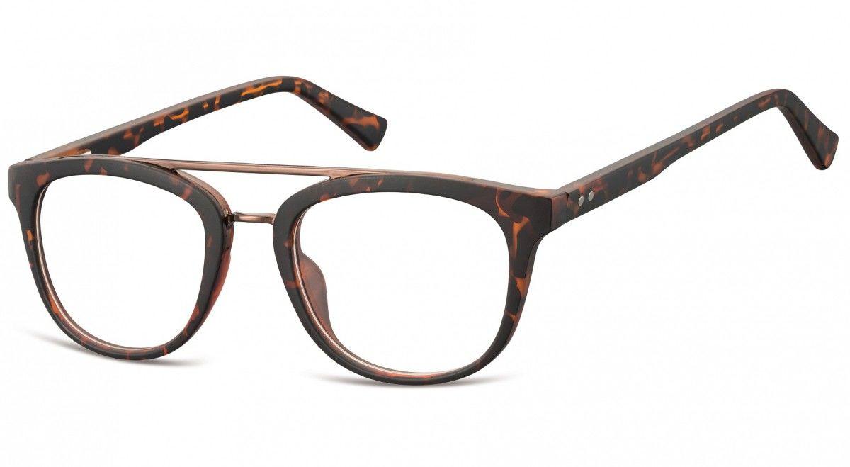 Okulary oprawki korekcyjne Nerdy zerówki Sunoptic CP135A