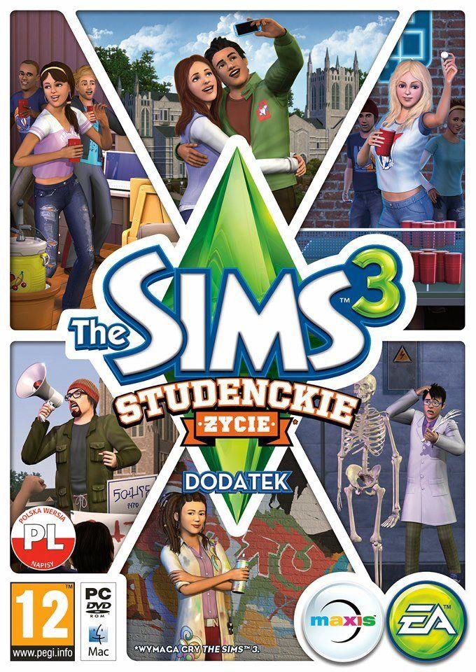 The Sims 3: Studenckie Życie (PC) PL klucz Origin