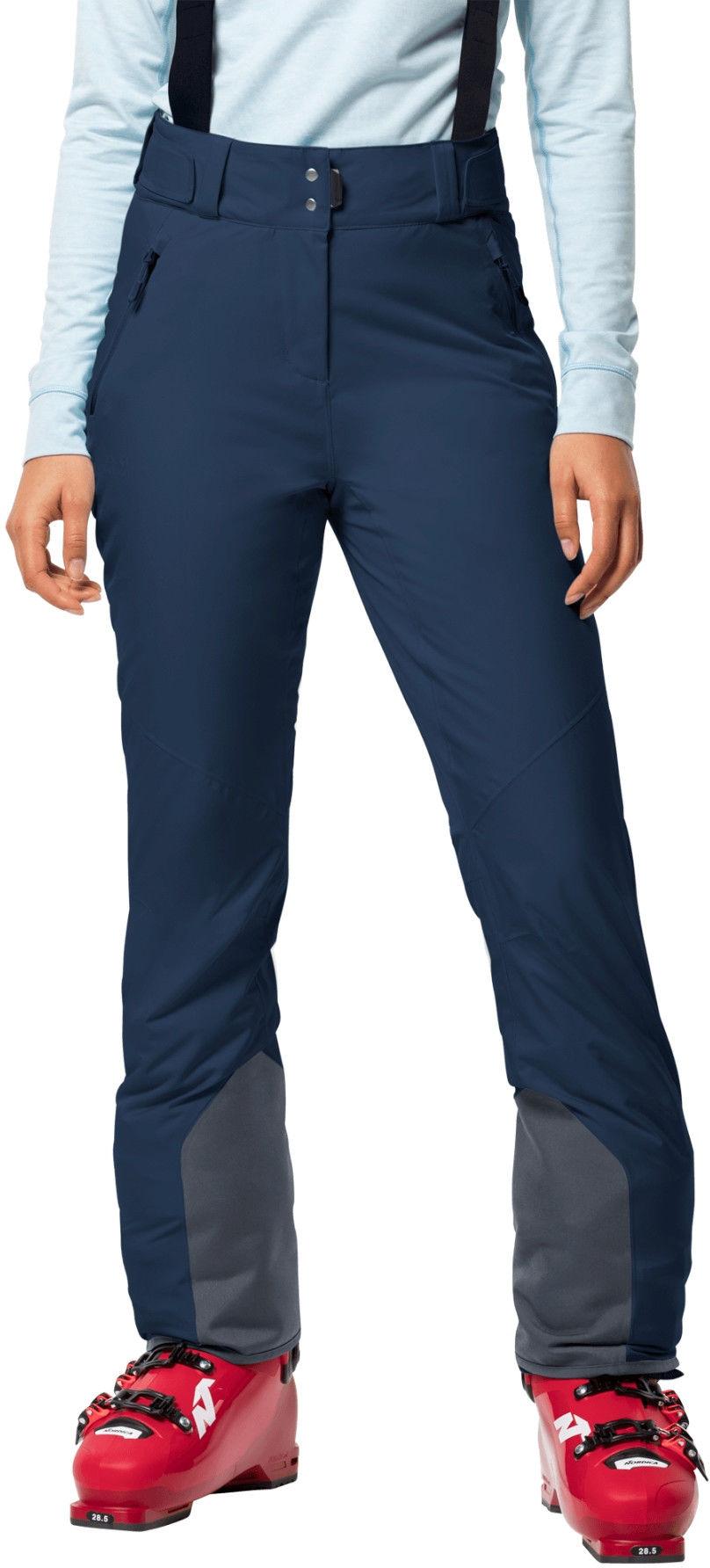 Jack Wolfskin Spodnie narciarskie damskie GREAT SNOW PANTS W dark indigo