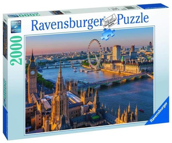 Puzzle 2000 Nastrojowy Londyn - Ravensburger