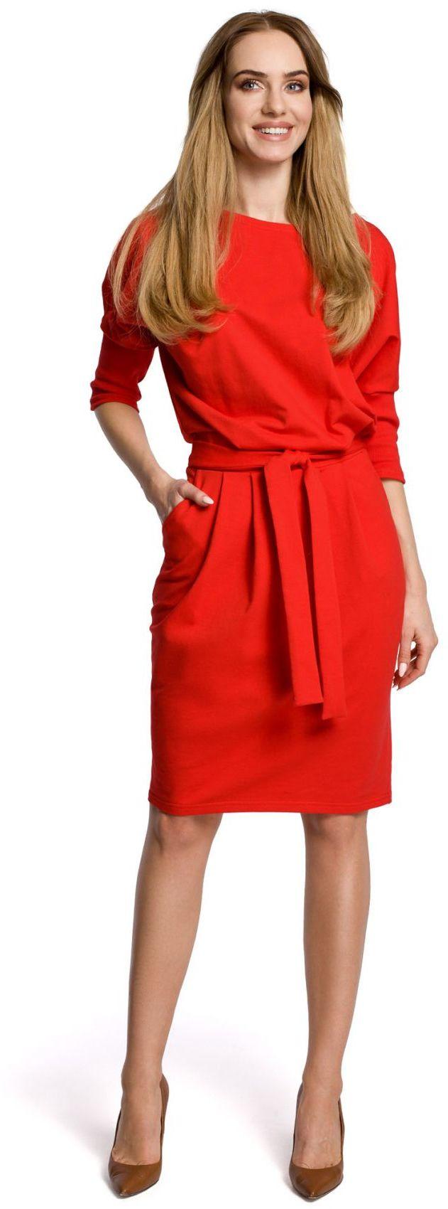 M369 Sukienka czerwona