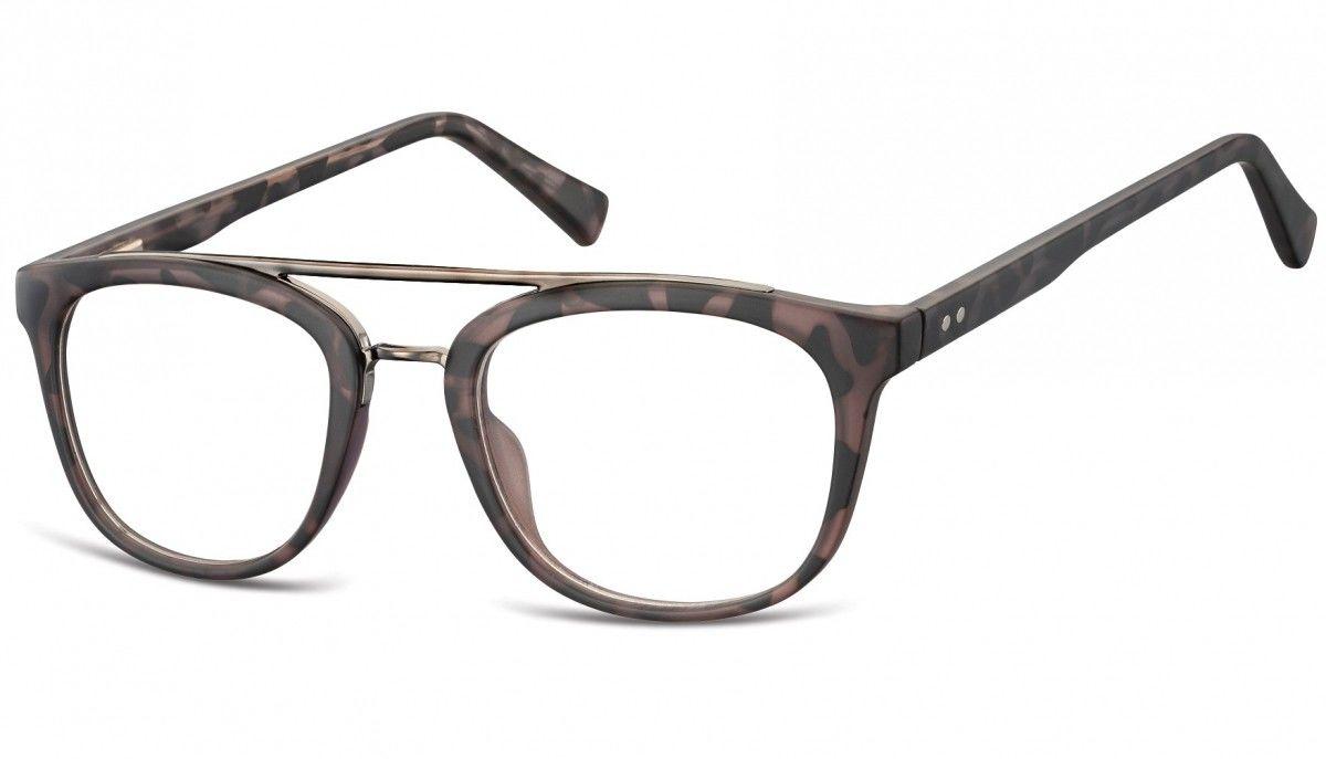 Okulary oprawki korekcyjne Nerdy zerówki Sunoptic CP135B