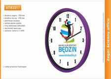 Zegar reklamowy 10'' fiolet / 250mm