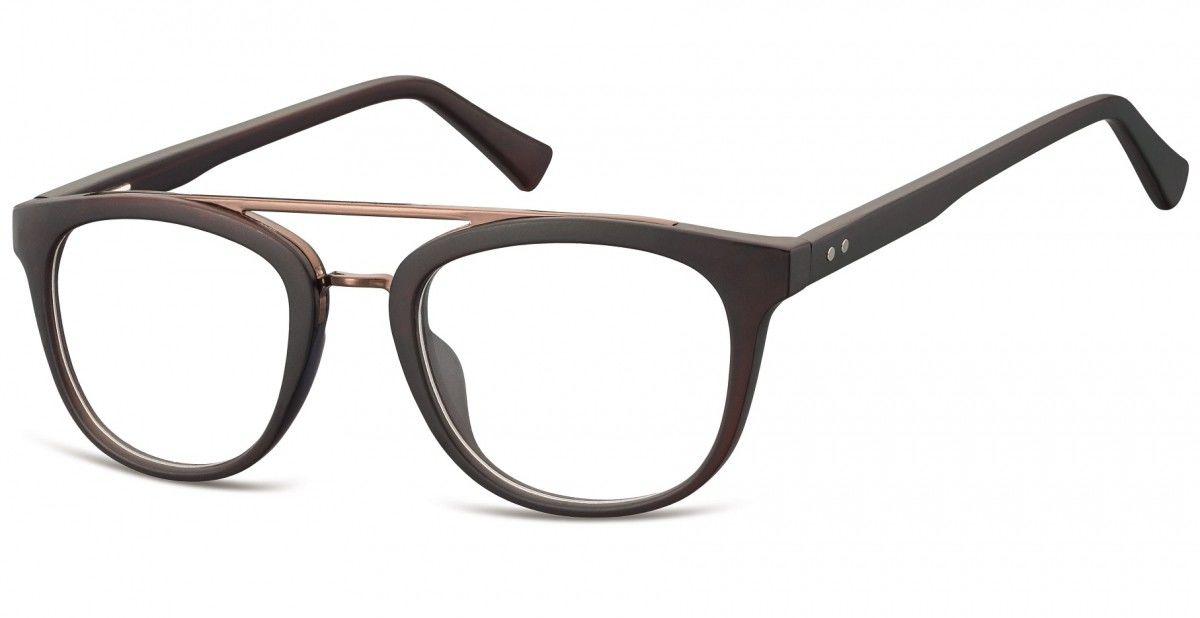 Okulary oprawki korekcyjne Nerdy zerówki Sunoptic CP135C