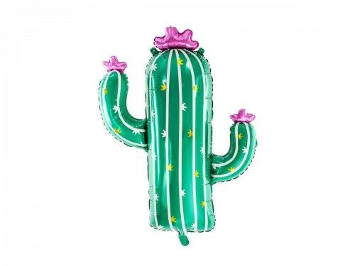 "Balon foliowy Kaktus 23,5 x 32,5"""