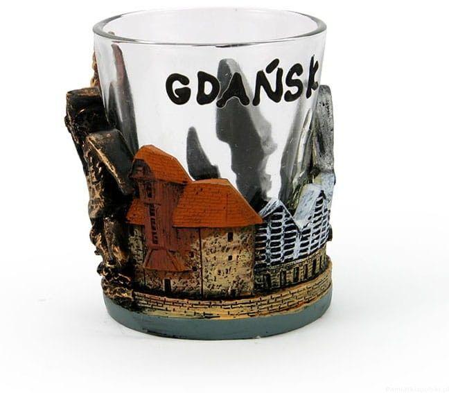 Kieliszek z obudową Gdańsk
