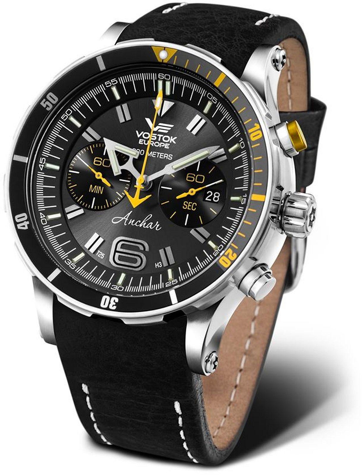 Zegarek męski Vostok Europe Anchar Chronograph