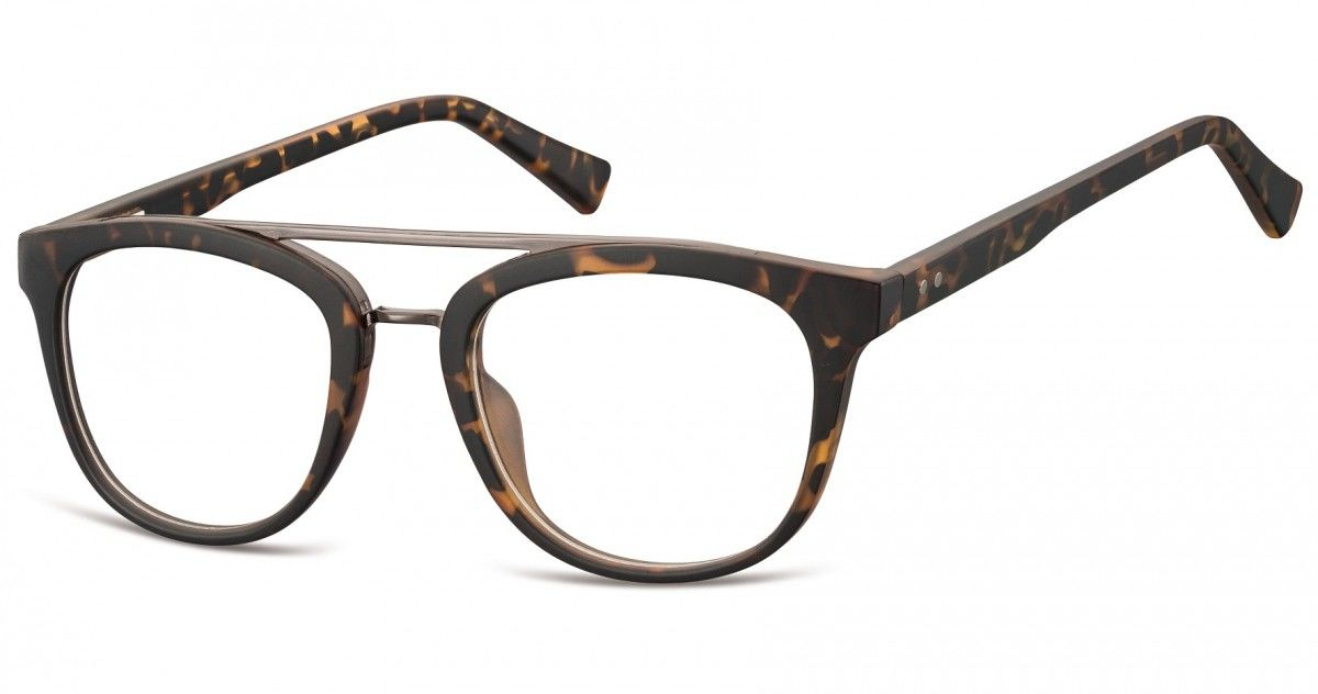Okulary oprawki korekcyjne Nerdy zerówki Sunoptic CP135D
