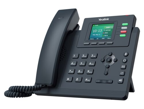 SIP-T33G TELEFON IP, HD, 4 x SIP, POE, 2 x GB - YEALINK