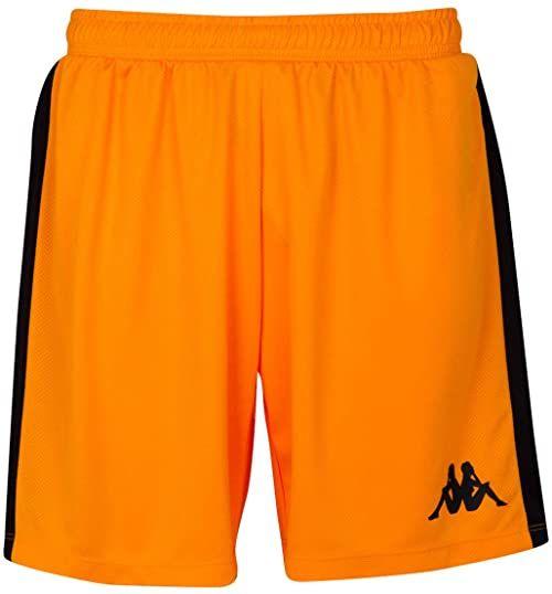 Kappa Damskie spodnie do koszykówki Calusa pomarańczowa pomarańczowy S