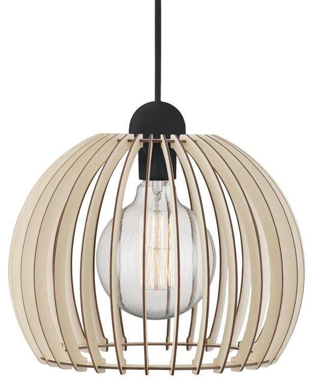Lampa wisząca Chino 30 84833014 Nordlux dekoracyjna ażurowa lampa z drewna