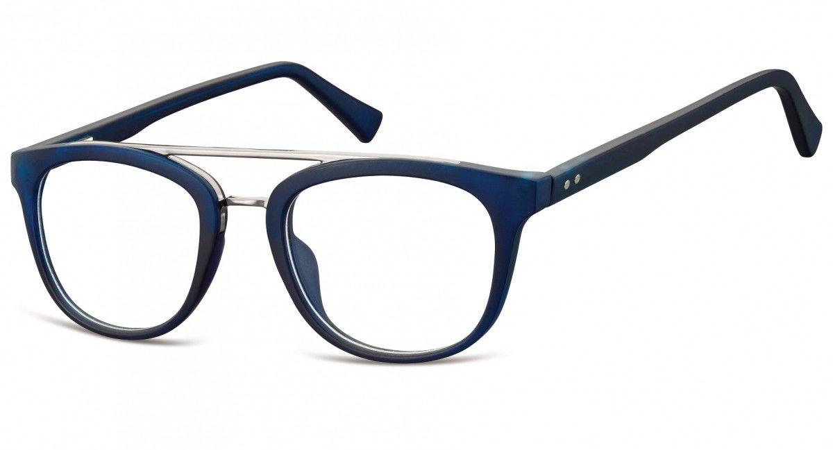 Okulary oprawki korekcyjne Nerdy zerówki Sunoptic CP135E