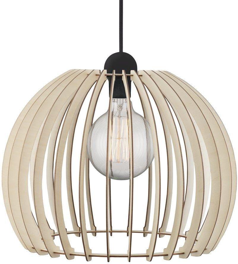Lampa wisząca Chino 40 84843014 Nordlux dekoracyjna ażurowa lampa z drewna