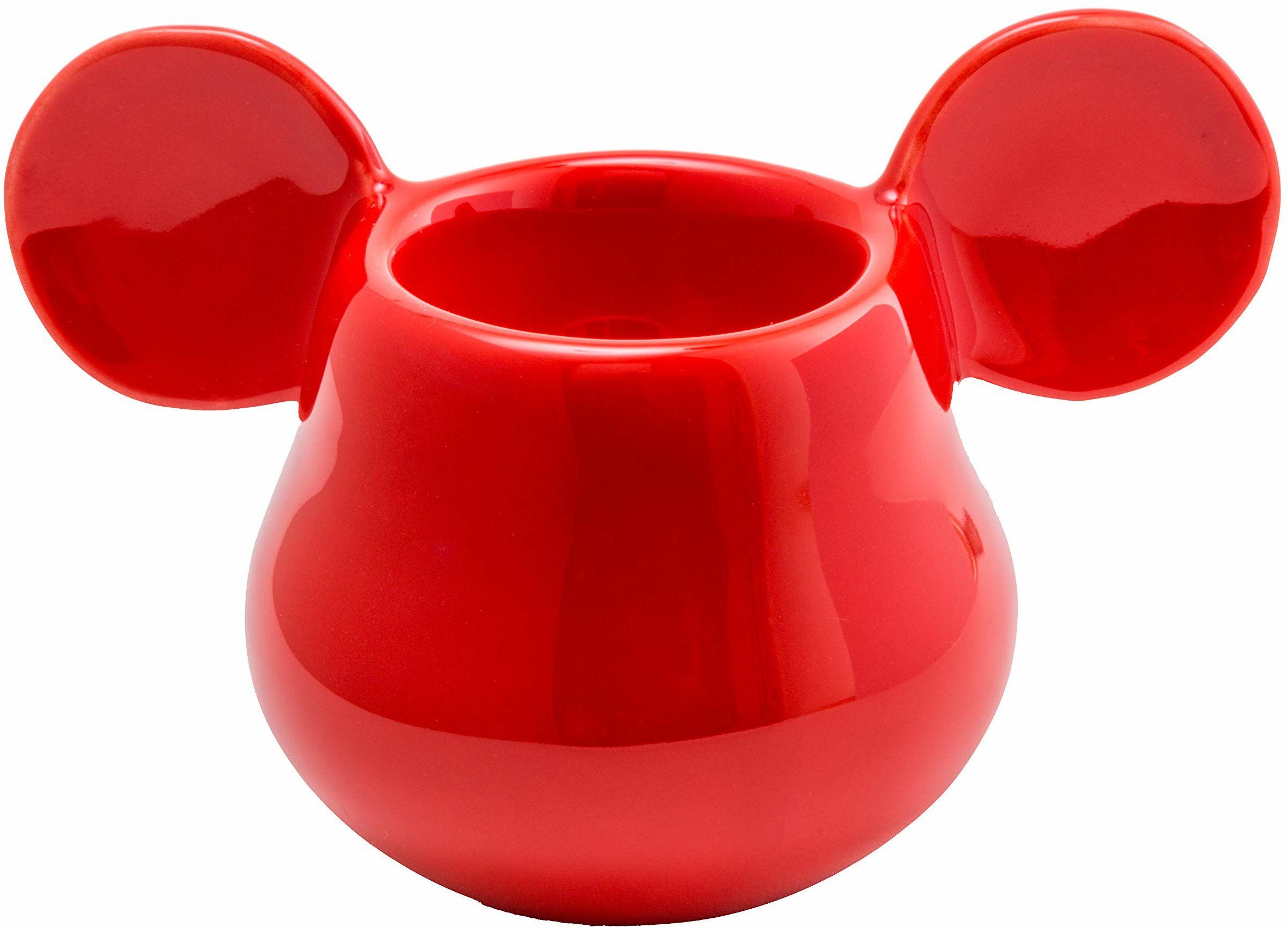 Joy Toy 62142 Mickey Mouse 3D kubek do jajek czerwony 11 x 7 cm