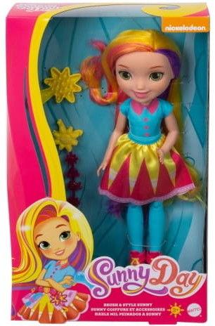Mattel Sunny Day Duża Lalka Sunny z włosami do stylizacji 28 cm. FBN72