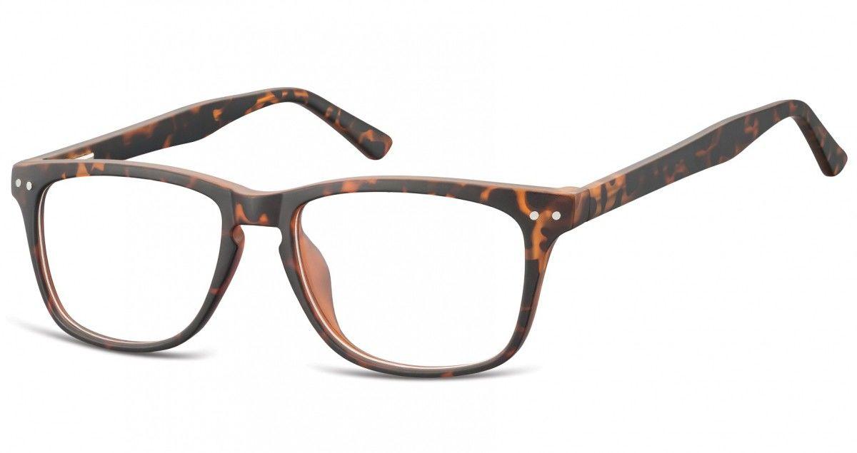 Okulary oprawki korekcyjne Nerdy zerówki Sunoptic CP136A szylkret