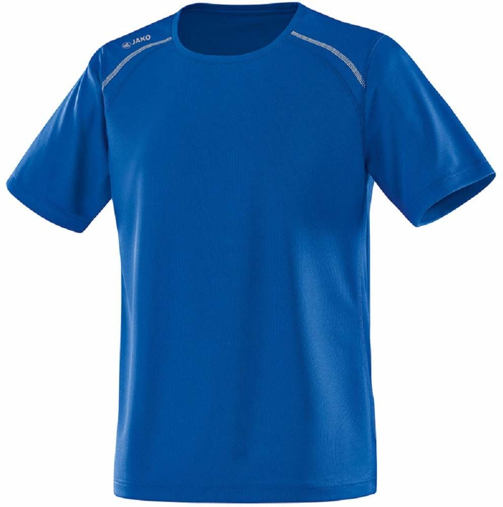 JAKO Męski T-shirt Run, royal, M