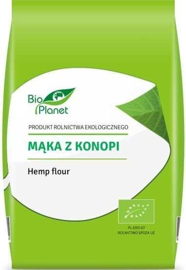 Mąka z Konopi Konopna 400g - Bio Planet EKO