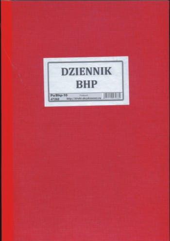 Dziennik BHP [Pu/Bhp-10]