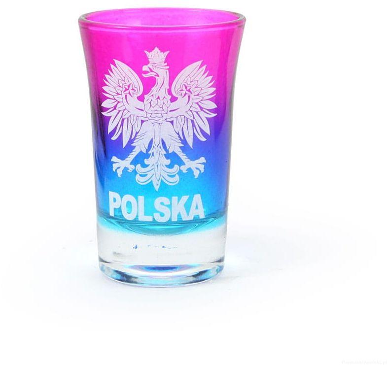 Kieliszek tęczowy Polska