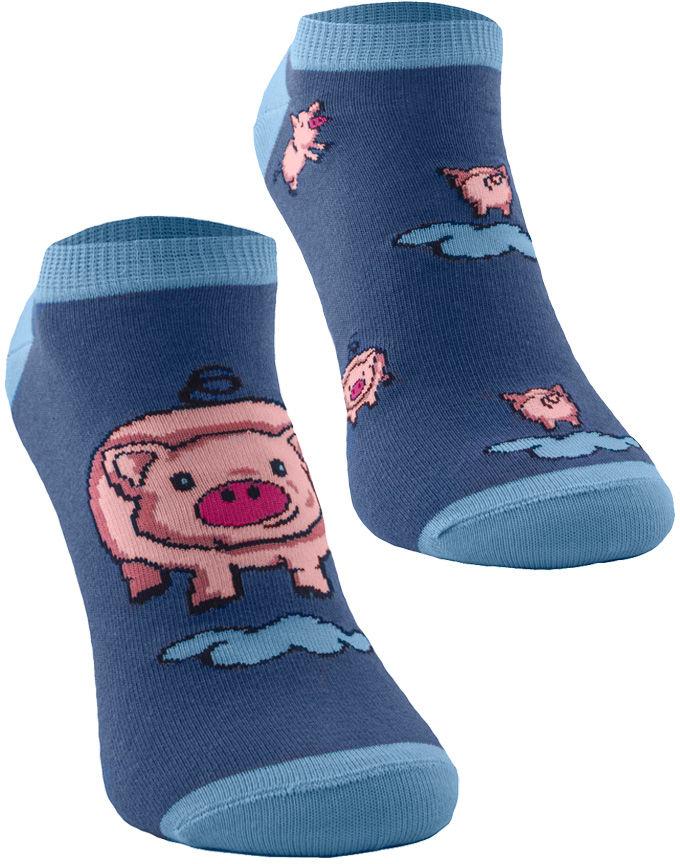 Stopki, Little Piggy Low Kids, Todo Socks, Świnka, Kolorowe Dziecięce