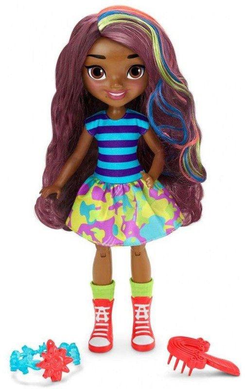 Mattel Sunny Day Duża Lalka Roksy z włosami do stylizacji 28 cm. FBN73