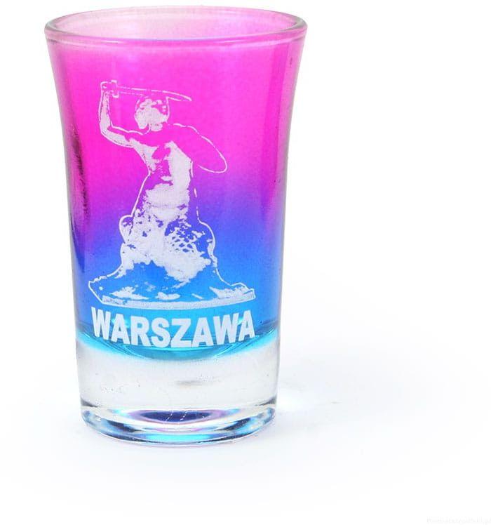 Kieliszek tęczowy Warszawa