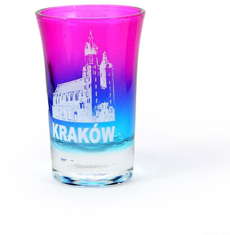 Kieliszek tęczowy Kraków