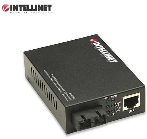Media konwerter Intellinet 10/100Base-TX RJ45/100Base-FX SC MM