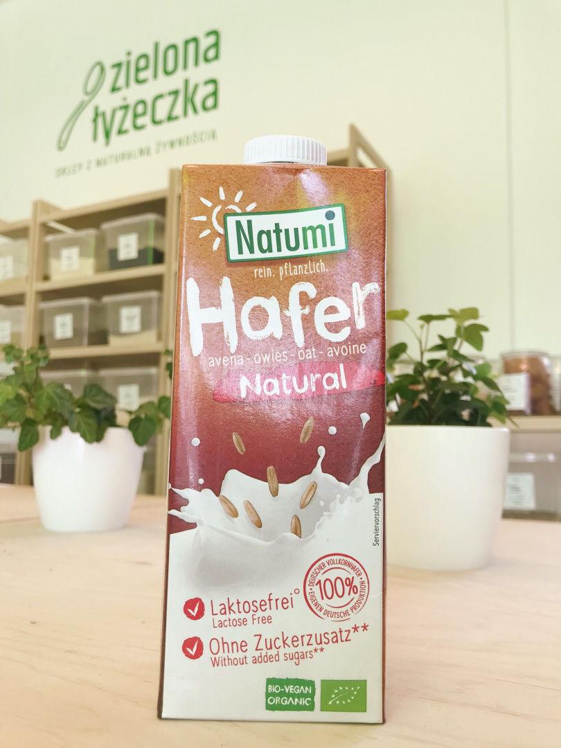 Napój owsiany naturalny bez dodatku cukrów BIO