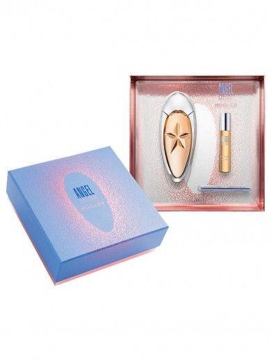 Thierry Mugler Angel Muse miniaturka 9ml + woda perfumowana - 50ml REFILLABLE