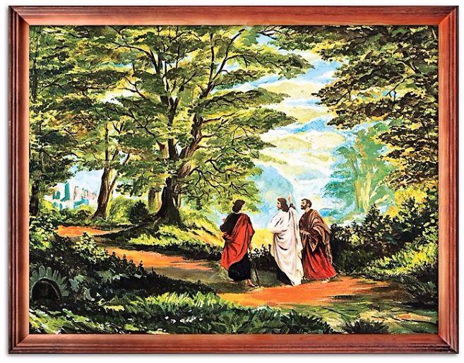 Obraz religijny Droga do Emaus