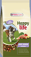 VERSELE-LAGA Happy Life Light Senior Chicken 15kg Darmowa dostawa