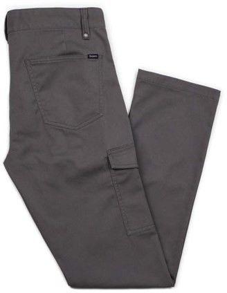 spodnie BRIXTON - Fleet Cargo Pant Charcoal (CHARC