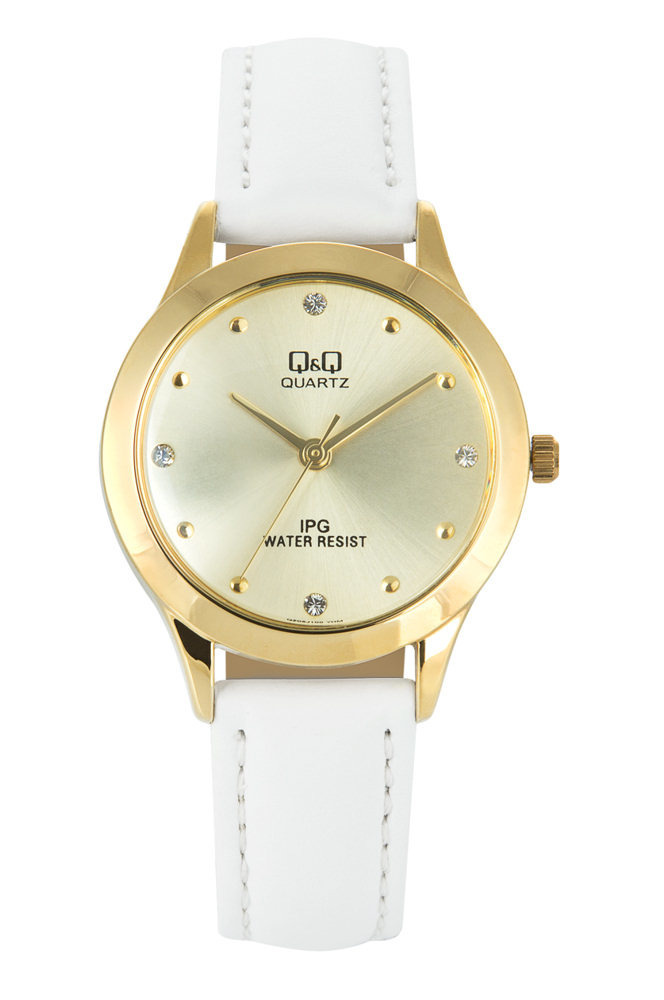Zegarek Q&Q QZ05-100 Klasyczny Cyrkonie
