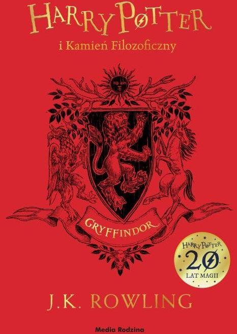 Harry Potter i kamień filozoficzny (Gryffindor) ZAKŁADKA DO KSIĄŻEK GRATIS DO KAŻDEGO ZAMÓWIENIA