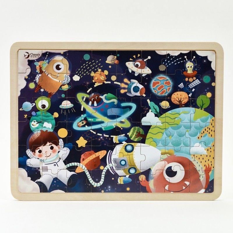 CLASSIC WORLD Puzzle Kosmos 48 el.