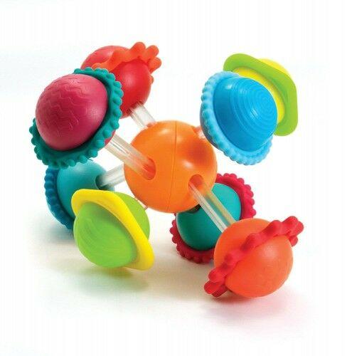 Grzechotka zabawka sensoryczna Wimzle Fat Brain Toys