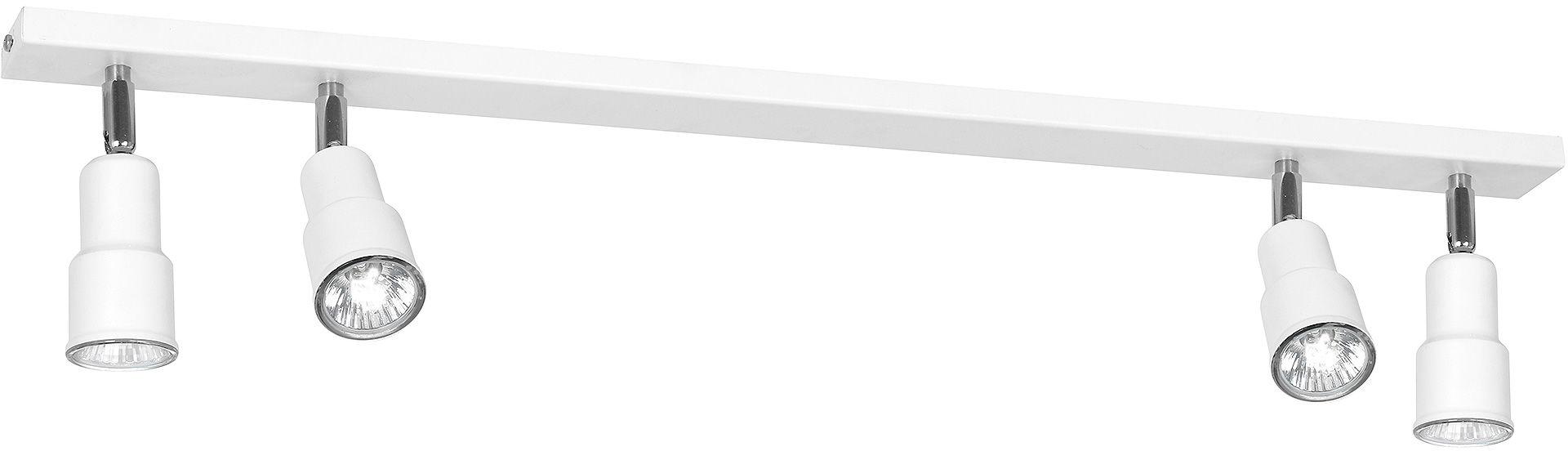 Listwa sufitowa ASPO 985PL/L Aldex nowoczesna biała listwa sufitowa