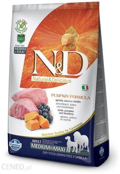 N&D GF PUMPKIN LAMB BLUEBERRY PUPPY MINI 2,5kg