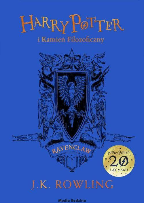 Harry Potter i Kamień Filozoficzny. Ravenclaw ZAKŁADKA DO KSIĄŻEK GRATIS DO KAŻDEGO ZAMÓWIENIA
