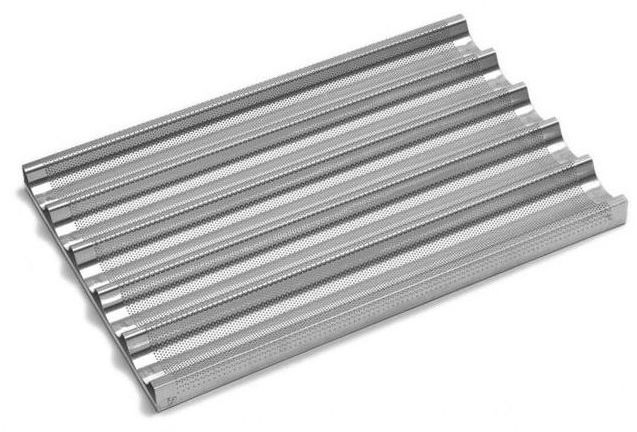 Blacha aluminiowa do bagietek perforowana