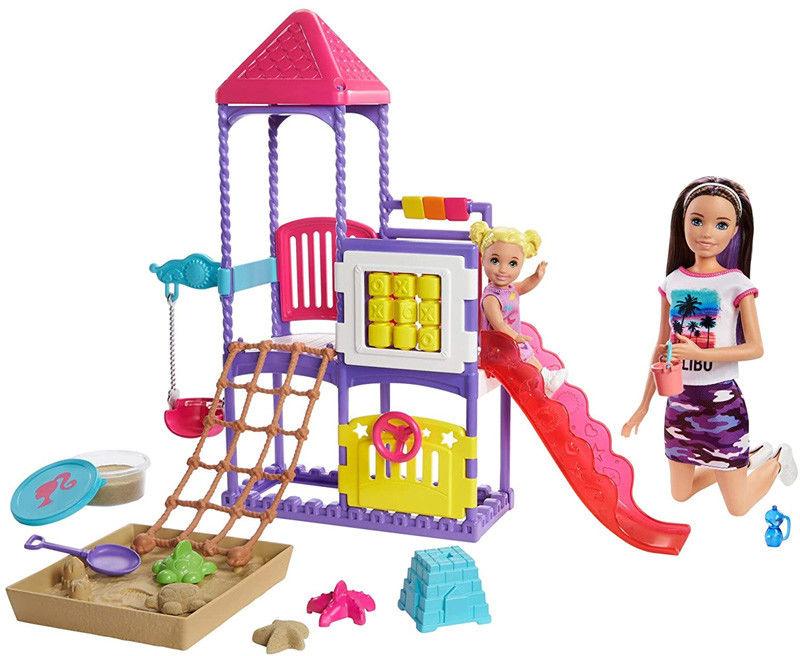 Barbie Skipper Plac zabaw GHV89