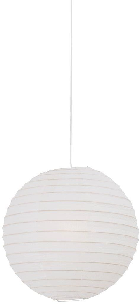 Abażur Rispapir 35 14093501 Nordlux biała oprawa z papieru w kształcie kuli
