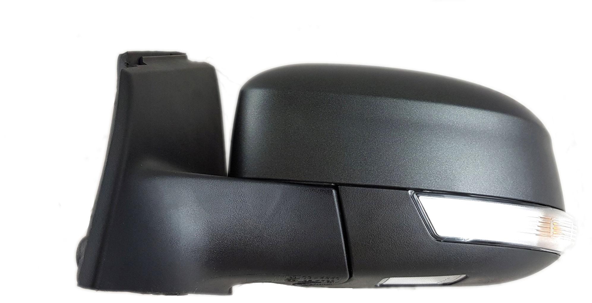 1x Nowe Oryginalne Lusterko Zewnętrzne Kierunkowskazem Ford Focus MK3 III Lift BM5117683YA - ABSOLUTE BLACK (MAT )