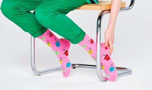 Happy Socks skarpetki SPO01-3300 bawełna r.36-40 SHEAKE