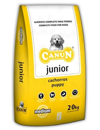 PRÓBKA Canun Junior dla młodych psów z kurczakiem(30%) - próbka 150g