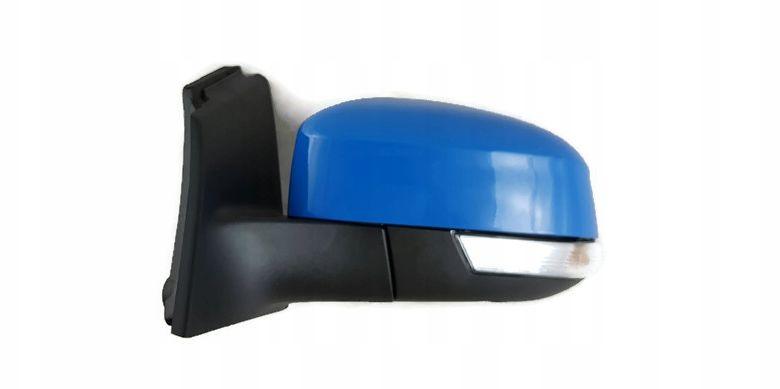 1x Nowe Oryginalne Lusterko Zewnętrzne Kierunkowskazem Ford Focus MK3 III Lift BM5117683YA - DEEP IMPACT BLUE